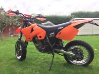 Ktm exc 450 supermoto enduro full mot serviced great condition