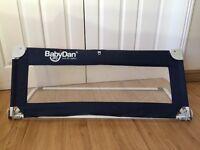Boxed Babydan Bed Guard Sleep Safe Compact Folding