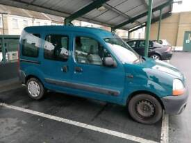 Renault kangoo 1.4 automatic 2002, mot, 85000 miles. Disability adapted to carry a wheelchair