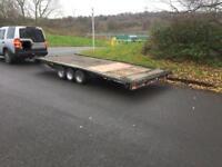 Brian James tri axle tilt car transporter /trailer 3500kg