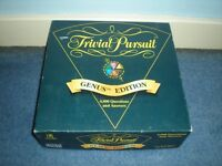 Vintage Parker 1995 Trivial Pursuit Genus Edition Board Game