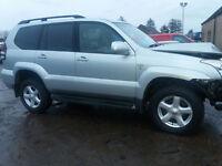 toyota land cruiser hilux new alloy wheels new tyres bridgestone 255 70 17 6 stud 4 wheel drive