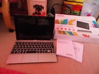 TOSHIBA SATELITE CLICK 10(10.1 inch)screen,windows 10 laptop/tablet removable keyboard 8mp in box