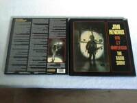Jimi Hendrix box's set