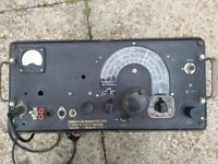 Pye military radio PCR.2 (rather old: valves inside!)