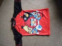 Angry Birds Swimming Top Aged 9-10