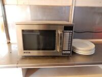 Catering Grade 1500 Watt Sharp Microwave