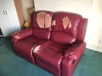 Sofa free to collector or £15 local delivery