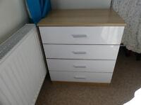 Melbourne 4 drawer bedroom chest