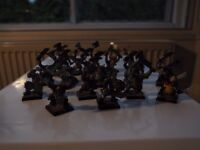 LOWPRICE: assortd colln Elven, Skaven, Beastmen, Orcs, Night Goblins, Chaos, Orc Chariots c160 figs