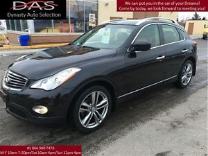 2012 Infiniti EX35 AWD NAVIGATION/SUNROOF/REAR VIEW CAMERA