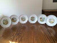 Cheese Design China Plates