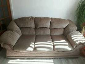 3 and 2 seater sofas £150 excellent condition