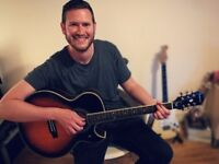 Guitar lessons in the comfort of your own home with a friendly, experienced and professional teacher