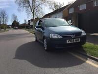 Vauxhall corsa sri 1.4 mot till April 2001