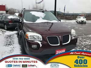 2008 Pontiac Montana SV6 FWD | VAN LOANS FOR ALL CREDIT
