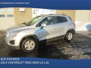 2015 CHEVROLET TRAX AWD LT TRACTION INTEGRALE