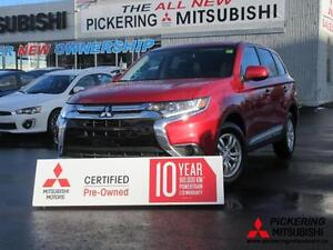 2016 Mitsubishi Outlander Certified Pre-Owned, Bluetooth, Alloy