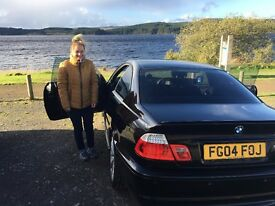 BMW 330CI 2004 BLACK *LPG CONVERTED 50mpg* MANUAL