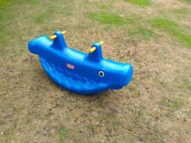 Little tikes whale rocker