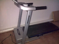 Horizon Heavy Duty Treadmill. Takes 135kg/300lbs. in Weight. Excellent Condition.