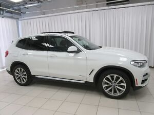2018 BMW X3 IT'S A MUST SEE!!! 30i x-DRIVE AWD TURBO LUXURY SU