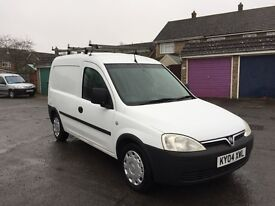 VAUXHALL COMBO WHITE 1.7DTI 1YEARS MOT, ROOF RACKING