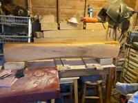 Oak Beam(52 inch Long Mantel)