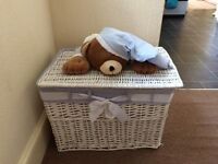 Baby/nursery storage basket