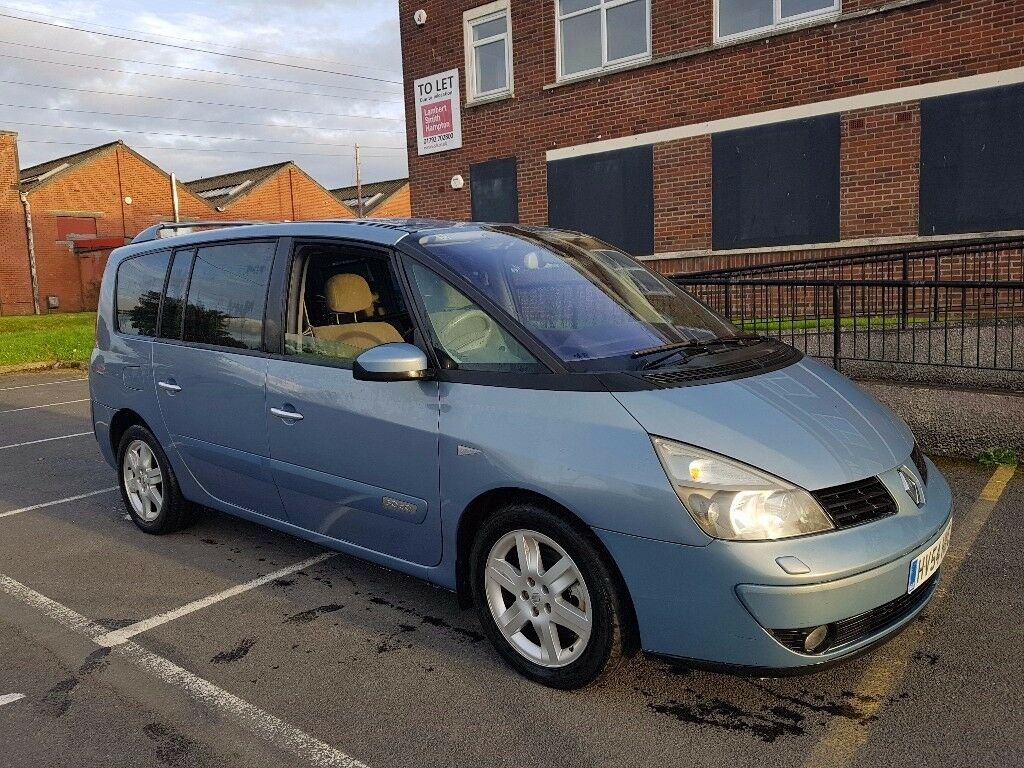 2004 54 renault grand espace 3 0 dci auto initiale in swansea gumtree. Black Bedroom Furniture Sets. Home Design Ideas
