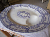 WEDGEWOOD EXCELSIOR MEAT DISH (19TH CENTURY)