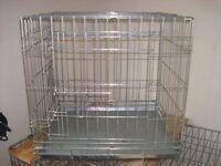 sm dog cage