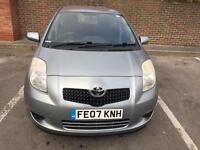 TOYOTA YARIS 1.3 5DR SERVICE HISTORY