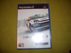 Playstation 2 Colin McRae Rally 3 game