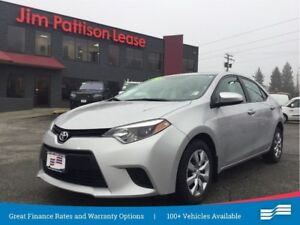 2014 Toyota Corolla LE Local vehicle w/ Back up cam.