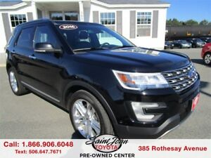 2016 Ford Explorer Limited $284.78 BIWEEKLY!!!