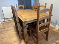 Must go this w/e 8/9th - 8 seater extendable dining room table and 8 chairs