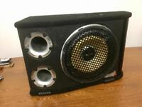 Vibe Blackair V12 Subwoofer with Full Wiring Kit and again Controller