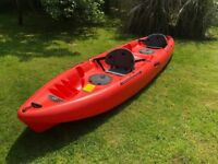 Equinox 12.0T Kayak: 2 Person Sit on, Very Stable