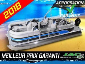 2018 Legend Boats Ponton Enjoy Lounging Mercury 25 EL Bateau pêc