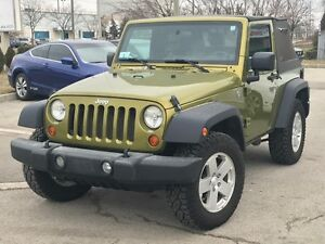 2007 Jeep Wrangler X 100% ACCIDENT FREE