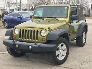 2007 Jeep Wrangler X 100% ACCIDENT FREE