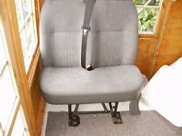 ford transit double passenger seat