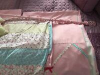 NEXT- Girls patchwork bedding set