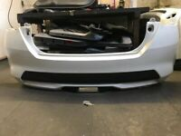GENUINE NISSAN MICRA K14 REAR BUMPER IN WHITE P/N: 85022-5FA0H (2017 - 2019)