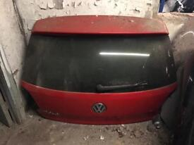 Vw polo 2009 2010 2011 2012 2013 2014 Genuine complete tailgate in red