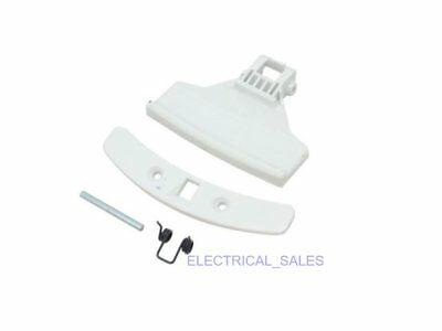 Used, ELECTROLUX ZANUSSI WASHING MACHINE WHITE DOOR HANDLE KIT 50267907009 GENUINE for sale  Shipping to United States