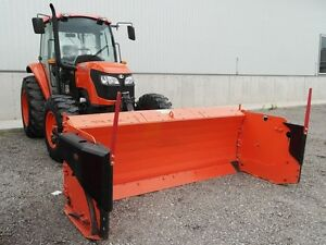 2008 kubota M9540DTHS Tractor & Snow Blade Package