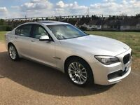 BMW 730d M Sport Diesel Full BMW History - Sunroof - Cream Leather - HPI Clear, VGC, 7 Series