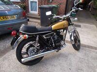 Yamaha YDS 7 Vintage Motorcycle (Rare as rare can get)